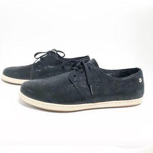 vionics. Taylor black shine athletic sneakers.